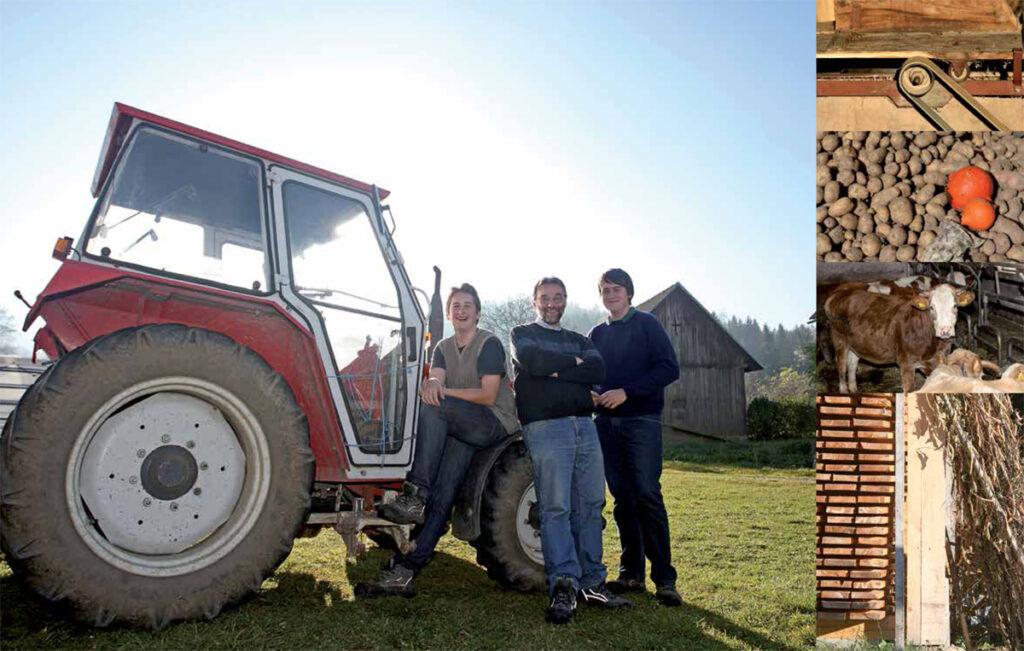 Peter in Heli Korpitsch, kmetija pri Šteflcu