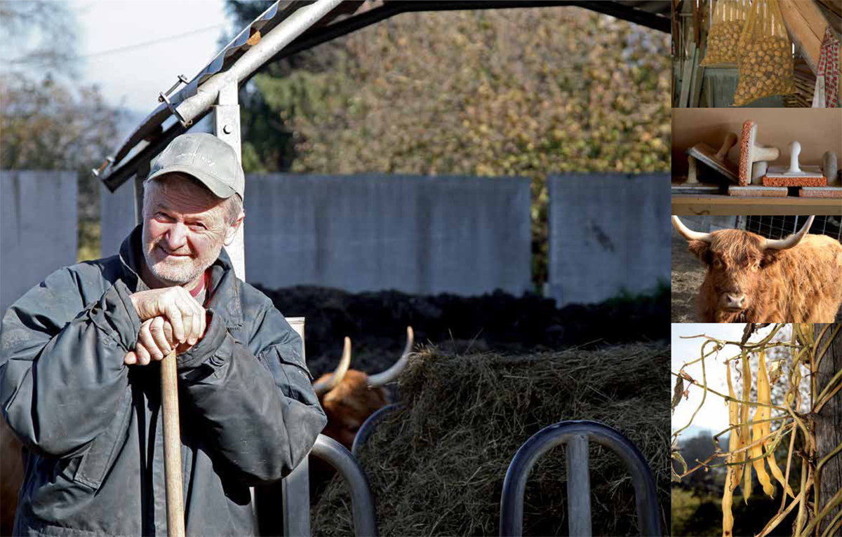 Karli Krautzer, kmetija pri Kraucarju