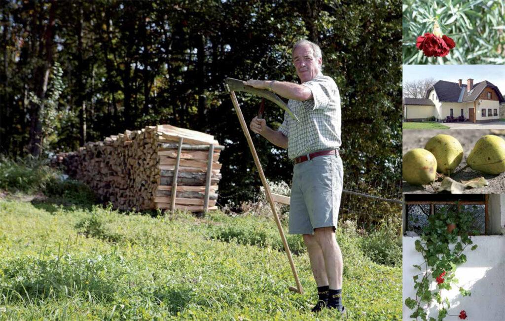 Nuži in Marica Wieser, kmetija pri  Šuberniku