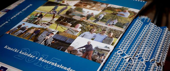 Predstavitev Kmečki koledar 2015 – Präsentation Bauernkalender 2015