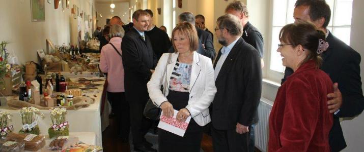 Slovesno odprtje 26. državne razstave Dobrote slovenskih kmetij v minoritskem samostanu na Ptuju