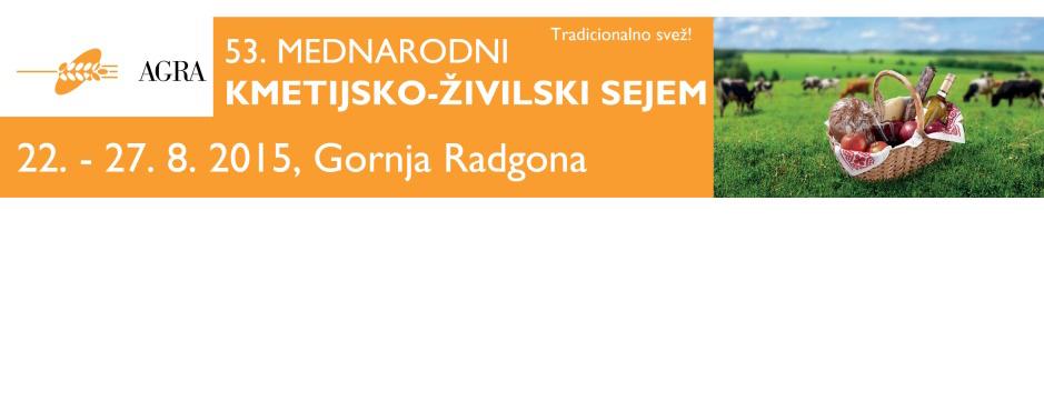 Exkursion zur 53. internationalen Landwirtschaftsmesse AGRA in Gornja Radgona