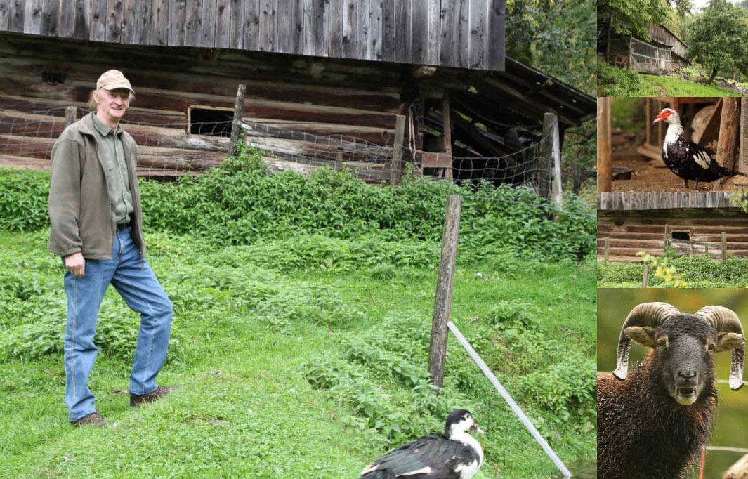 Pepi Malle, kmetija pri Urhu