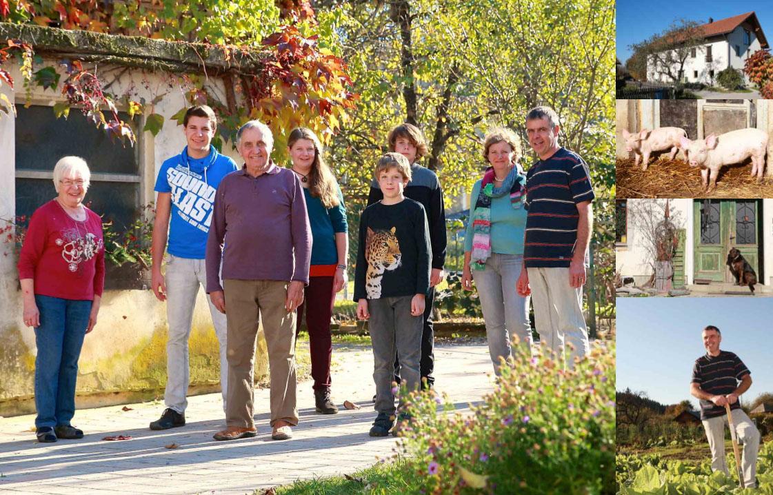 Družina Sticker, kmetija pri Stickru