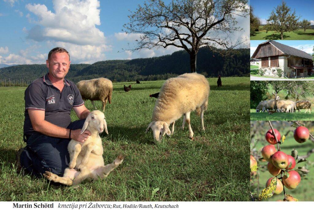 Martin Schöttl kmetija pri Žaborcu; Rut, Hodiše/Rauth, Keutschach