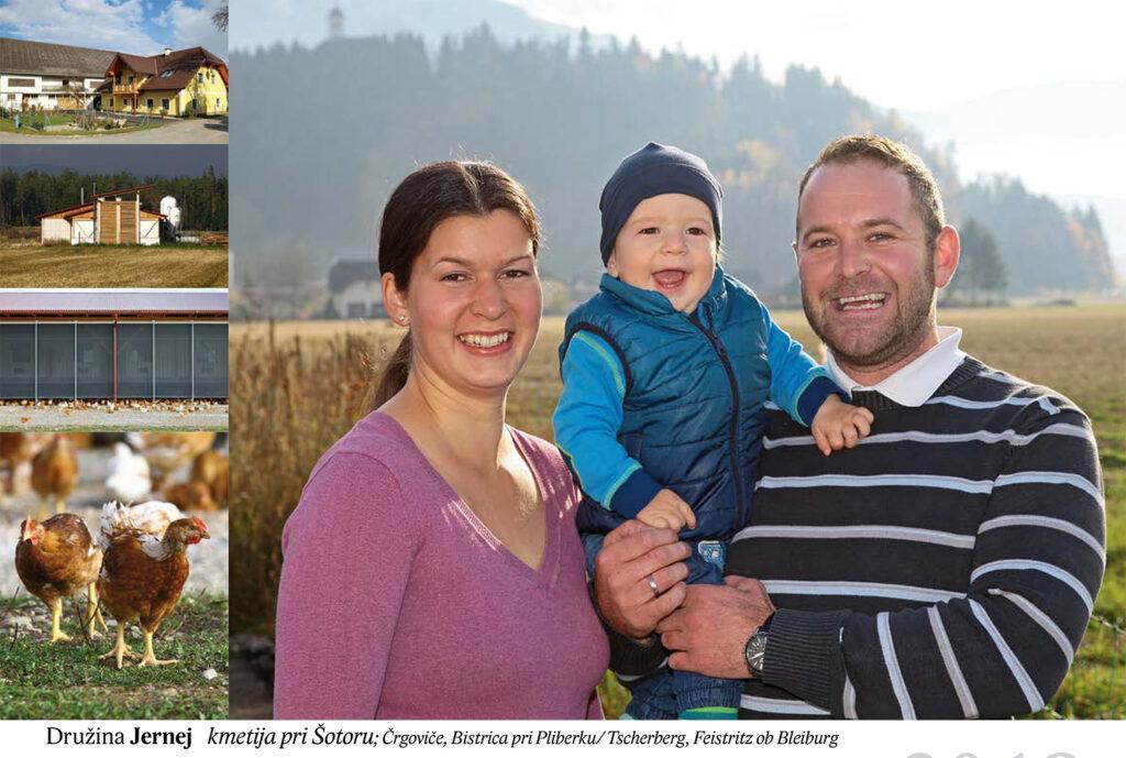 Družina Jernej, kmetija pri Šotoru Črgoviče, Bistrica pri Pliberku/Tscherberg, Feistrity ob Bleiburg