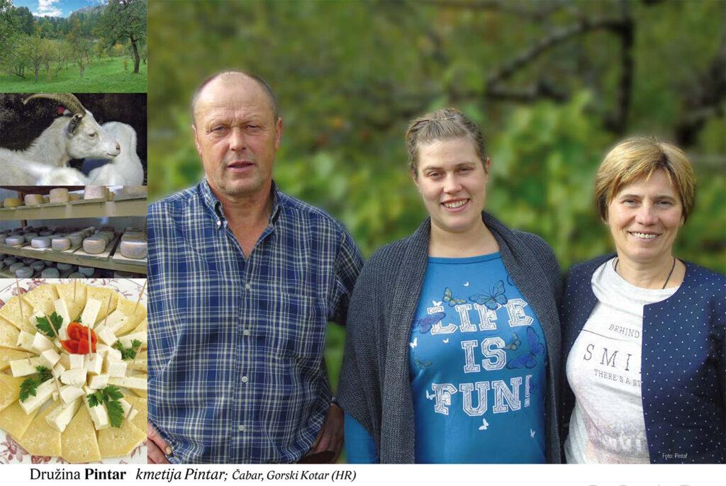 Družina Pintar, kmetija Pintar, Čabar, Gorski Kotar (HR)